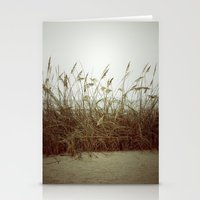 Beach Wheat Grass Stationery Cards