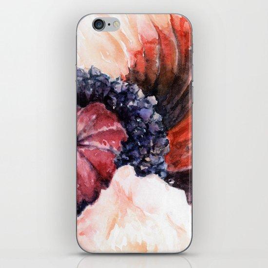 Oriental Poppy iPhone & iPod Skin