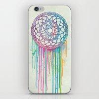 Watercolor Dream Catcher iPhone & iPod Skin