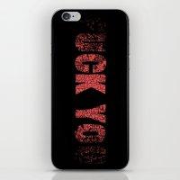 UCK YO iPhone & iPod Skin