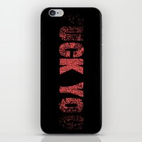 UCK YO iPhone & iPod Skin