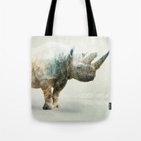 RHINO SPINE Tote Bag