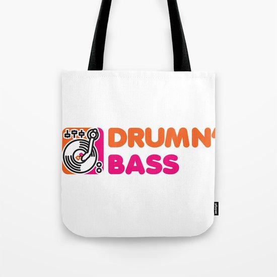 Drumn' Bass  Tote Bag