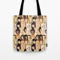 Girlie Pattern Tote Bag