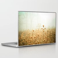 photography Laptop & iPad Skins featuring Daybreak in the Meadow by Olivia Joy StClaire