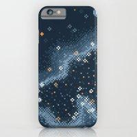 Grey Rift Galaxy (8bit) iPhone 6 Slim Case