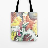 Flying towards nowhere Tote Bag