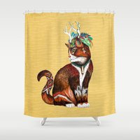 Wizard Cat Shower Curtain