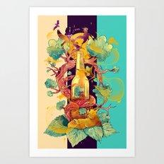 Natural Cycle Art Print