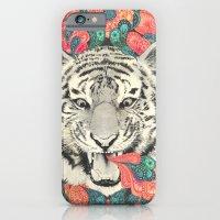 mandala iPhone & iPod Cases featuring bengal mandala by Laura Graves