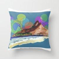 Leblon, Brazil Throw Pillow