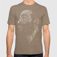 Marvin Gaye Mens Fitted Tee Tri-Coffee SMALL