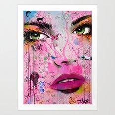 NEVER LOST FOREVER Art Print
