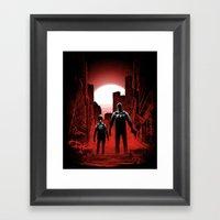 Quarantine: Joel And Ell… Framed Art Print