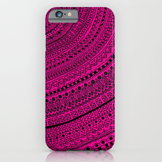 Hot Pink Pulse o4. iPhone & iPod Case