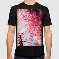 Color Drama I Mens Fitted Tee Tri-Black SMALL