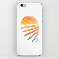 Raising Sun (rainbow-ed) iPhone & iPod Skin