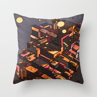 Locals Only - The Bronx,… Throw Pillow