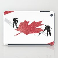Snow In Canada iPad Case
