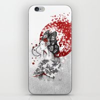 Madame Butterfly iPhone & iPod Skin