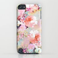 iPod Touch Cases featuring Love of a Flower by Girly Trend