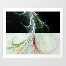 Lightning Dance Art Print