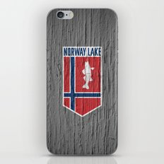 NORWAY LAKE / Sunburg / 2,327 acres iPhone & iPod Skin
