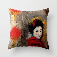 TOKYO SAD SONG Throw Pillow