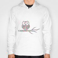 Owl on a branch Hoody