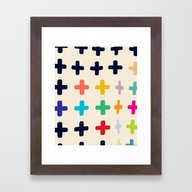 Framed Art Print featuring It's Peaceful At The Bot… by Matthew Korbel-Bower…