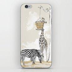 Zoo : Tigre, Zèbre, Girafe iPhone & iPod Skin