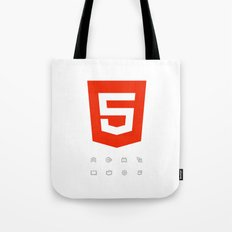 HTML5 Brand Launch Tote Bag
