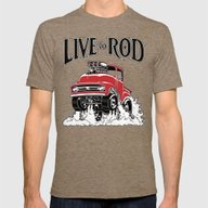 1956 FORD PICK-UP Workin… Mens Fitted Tee Tri-Coffee SMALL