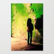 Green Series Canvas Print