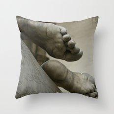 StoneFeet Throw Pillow