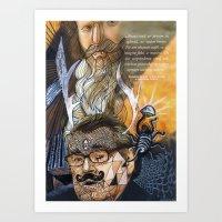Psychoactive Bear 1 Art Print