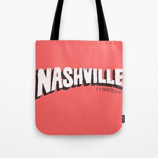 NASHVILLE, TN Tote Bag