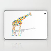 Technicolor Giraffe Laptop & iPad Skin