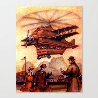 Heliplane Canvas Print