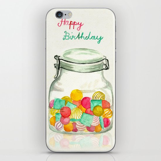 sweets for my sweet iPhone & iPod Skin