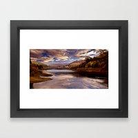 Big Sky over the Valley Framed Art Print
