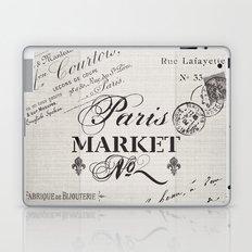 paris market Laptop & iPad Skin
