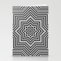 Optical illusion 1 Stationery Cards