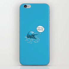 Find Your Porpoise iPhone & iPod Skin