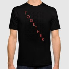 Together Mens Fitted Tee Black SMALL