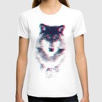 wolf T-shirts featuring Act like a wolf.  by Mason Denaro
