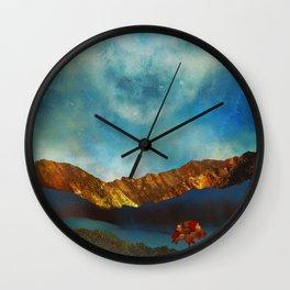 Wall Clock - Bronze Autumn - SpaceFrogDesigns