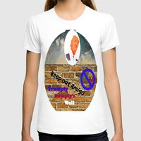 T-shirt featuring Trumpty Dumpty sat on a wall by Laura Santeler