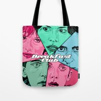 Breakfast Club Colors Tote Bag