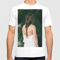 alydar Mens Fitted Tee White SMALL